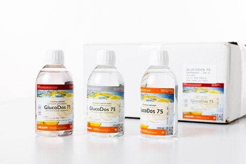 GlucoDos 75g / 300ml Glükoosijook on usaldusväärne ja värske jook Põhja-Euroopa maitseks