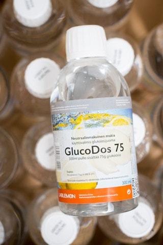 Glukoosijuomaa löytyy Magnum Medicalin varastosta 3 eri makua, Glucodos makia, Glucodos Vadelma ja Glucodos sitruuna.-4640